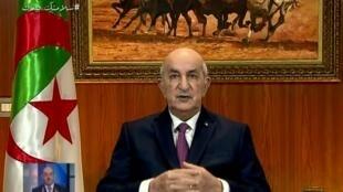 Le président algérien Abdelmadjid Tebboune a annoncé qu'il allait dissoudre le Parlement et procéder à un remaniement ministériel.
