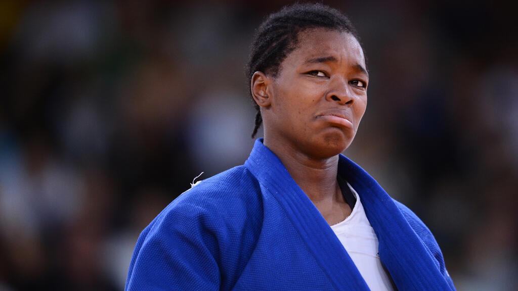 La Française Andrey tcheuméo, médaille d'argent des mondiaux de judo
