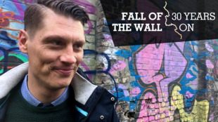 Amateur historian Christian Bormann waited 19 years to tell the world about an 80-metre stretch of the Berlin Wall he discovered.