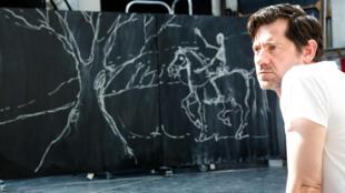 Olivier Py, en répétition d'Alceste à l'Opéra de Paris