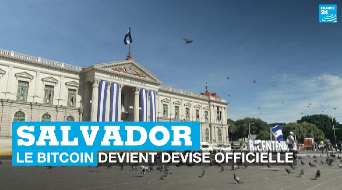 Au Salvador, le bitcoin devient devise officielle