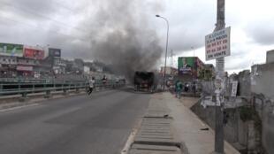 Tensions en Côte d'Ivoire à moins de deux semaines de la présidentielle.