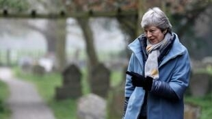 """The report, titled """"No-deal Brexit: the trade winners and losers"""", came out as British Prime Minister Theresa May (pictured April 7, 2019) pleased with EU leaders to provide an extension to the Brexit deadline to avoid leaving with no deal"""