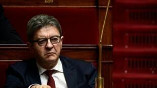 Jean-Luc Mélenchon à l'Assemblée nationale, le 27 mars 2019
