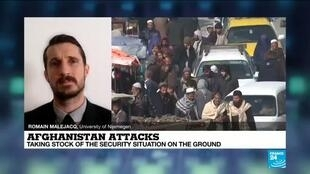 2020-11-23 13:38 Afghanistan attacks :  'Islamic state' group claims latest violence