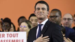 Quatre jours après le renoncement du chef de l'Etat à briguer un second mandat, Manuel Valls a déclaré sa propre candidature.