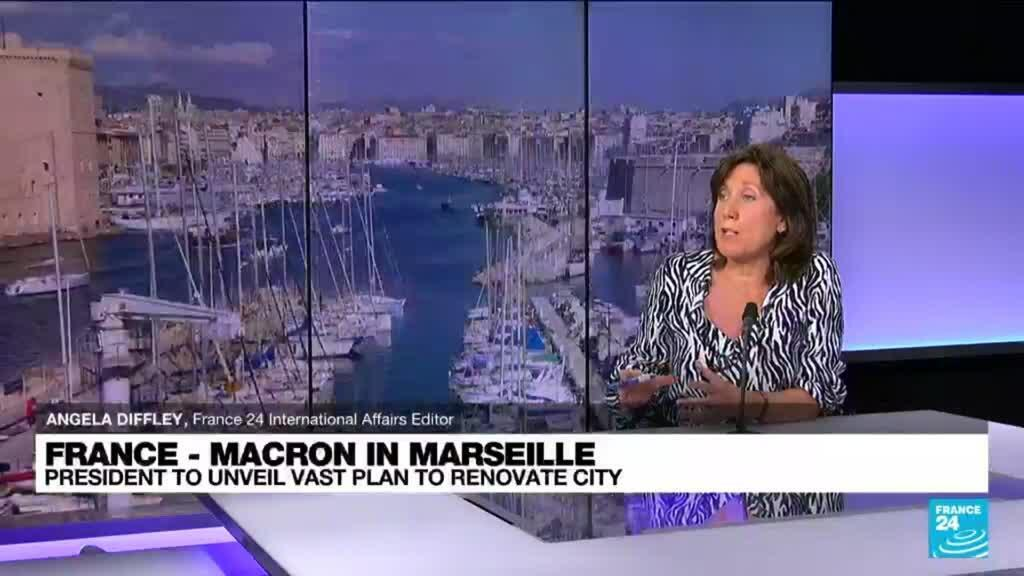 2021-09-01 12:03 Macron to unveil vast plan to renovate Marseille in grip of crime wave