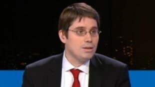 Benoît Quennedey, invitado de France 24, el 7 de marzo de 2017.