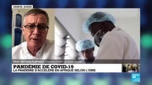"""2020-06-11 14:13 Pandémie de Covid-19 : """"On est loin d'avoir éliminer ce virus de la planète"""""""