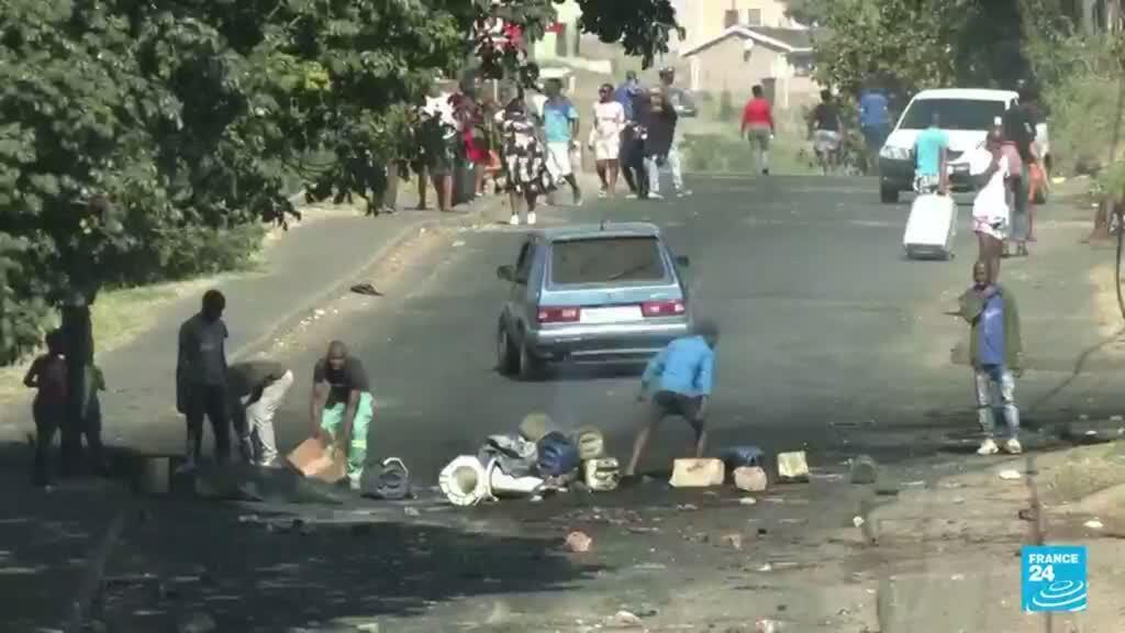 2021-07-12 22:07 Encarcelamiento del expresidente Zuma ha desencadenado un violento descontento social en Sudáfrica