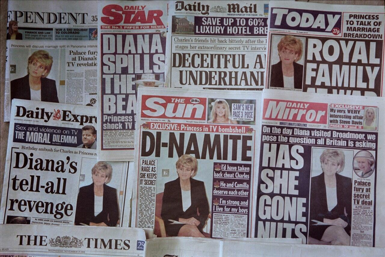 Diana BBC interview 1995