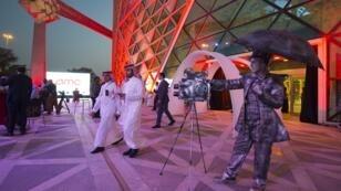 Le 18 avril, dans le cinéma AMC, à Riyad, a lieu la première séance de cinéma depuis trente-cinq ans