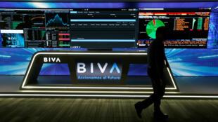 Oficinas de la Bolsa Institucional de Valores (BIVA), durante el lanzamiento de operaciones en la Ciudad de México, México, el 25 de julio de 2018