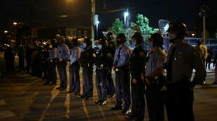 Philadelphia police curfew walter wallace protests RTX85RVS