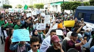 Protesters are demanding a complete overhaul of the political system in Algeria