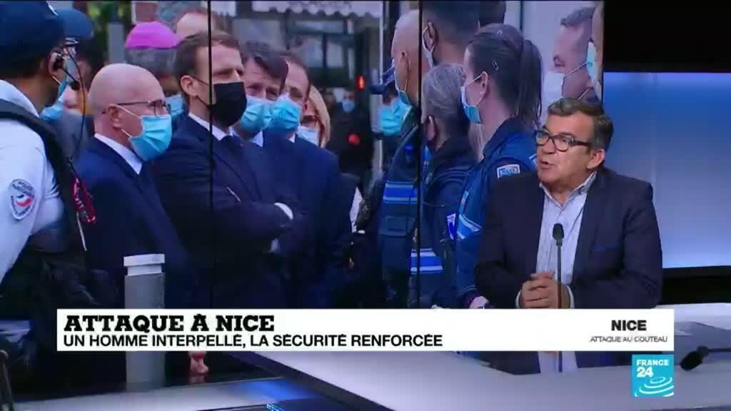 """2020-10-30 10:04 Attaque à Nice : """"On ne peut pas dire qu'ils ne passeront pas"""""""