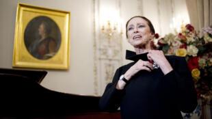 La danseuse russe Maïa Plissetskaïa le 23 février 2012.