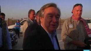 رئيس الوزراء البرتغالي السابق والمرشح لمنصب الأمين العام للأمم المتحدة أنطونيو غوتيريس.
