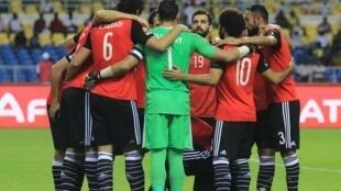 المنتخب المصري المشارك في بطولة كأس الأمم الأفريقية 2017 بقيادة حارس المرمى عصام الحضري