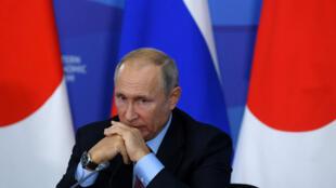 Le président russe Vladimir Poutine, le 10 septembre 2018.