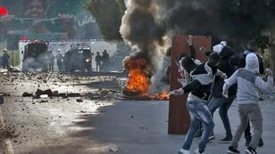 مواجهات بين فلسطينيين وقوات الأمن الإسرائيلية