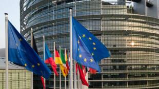 Le Parlement européen de Strasbourg, le 14avril2019.