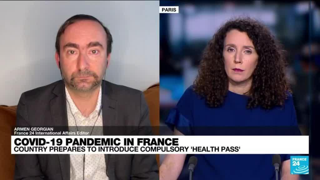 2021-07-20 08:01 Covid-19 pandemic in France: Country prepares to introduce compulsory 'health pass'