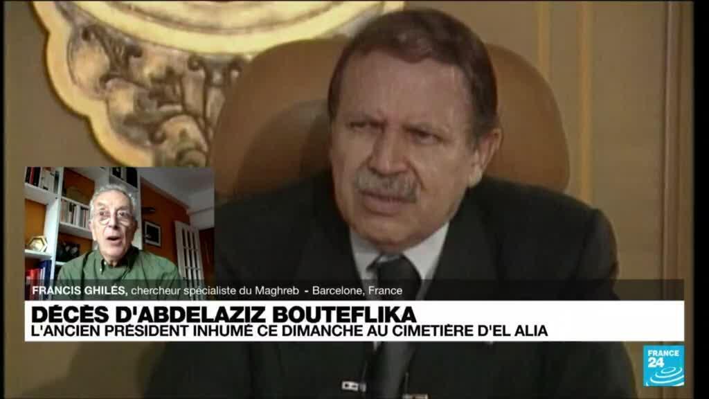 2021-09-19 08:02 Décès d'Abdelaziz Bouteflika: l'ancien président inuhumé ce dimanche