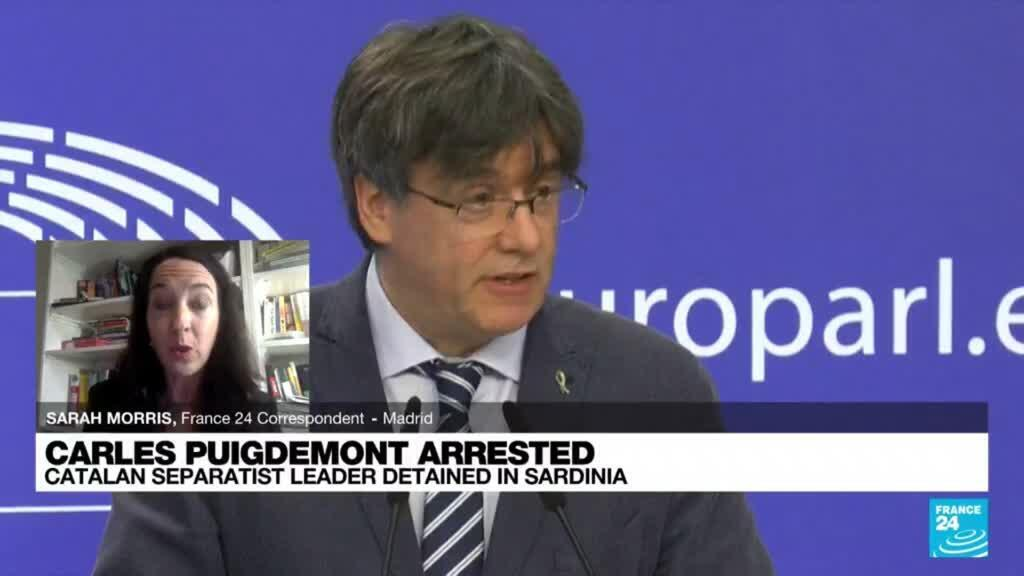 2021-09-24 09:02 Catalan separatist leader Puigdemont due in court after Italy arrest