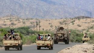 قوات موالية للحكومة في لحج