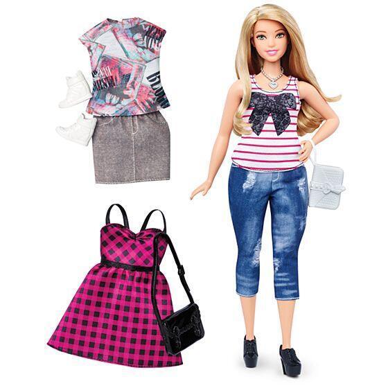 "Barbie ""plus size""."