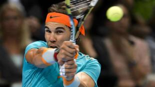 L'Espagnol Rafael Nadal ne participera pas au Masters 1000 de Paris-Bercy, qui débute lundi.