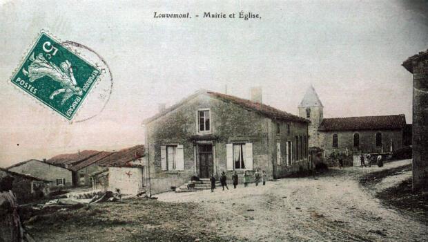 Le village de Louvemont-Côte-du-Poivre avant la guerre