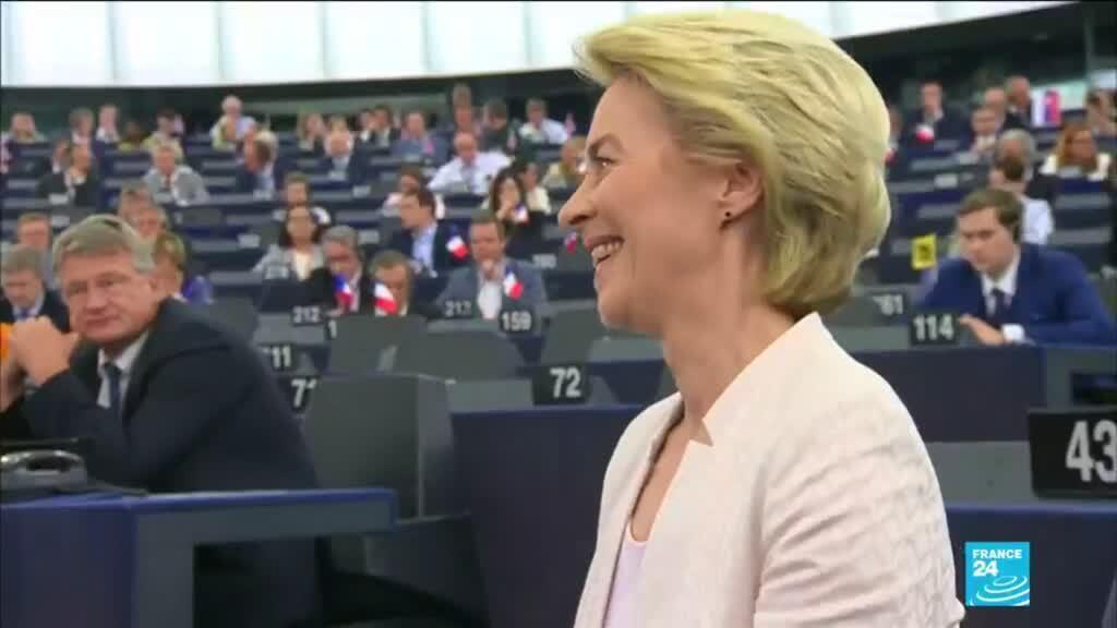 2019-11-27 10:35 EU chief Von der Leyen's team faces final vote in Parliament