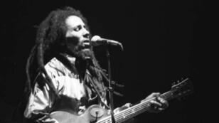 Bob Marley, le 30 mai 1980, lors d'un concert à Zurich.
