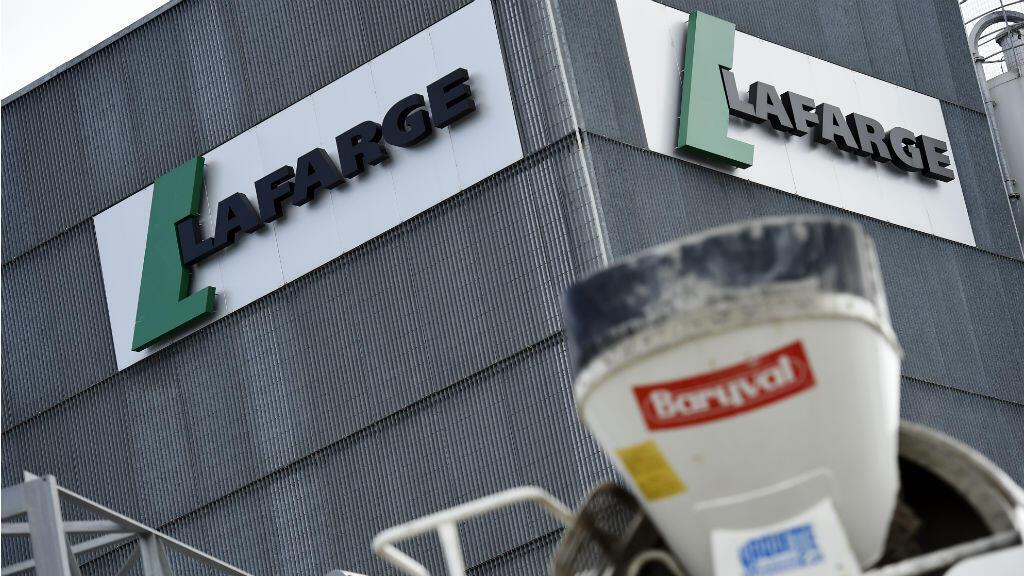L'entreprise française Lafarge a été perquisionnée à Paris, le 14 novembre 2017.