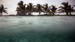 La reserva de la barrera de arrecifes de Belice, el 6 de junio de 2018.