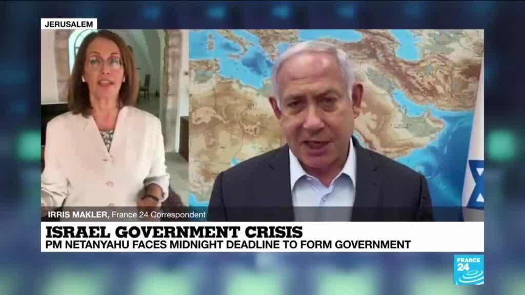 2021-05-04 15:03 Israel's Netanyahu faces midnight deadline to form government