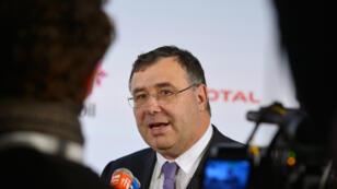 Patrick Pouyanne, le PDG de Total, a signé le document sur le climat, à l'instar de neuf autres géants des énergies fossiles.