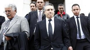 صورة أرشيفية للمرشح الرئاسي في تونس نبيل القروي.