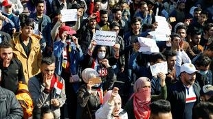 2020-02-04T115737Z_72642203_RC2NTE99XE0D_RTRMADP_3_IRAQ-PROTESTS