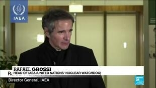 2021-02-22 08:04 UN nuclear watchdog chief says 'temporary solution' negotiated with Iran