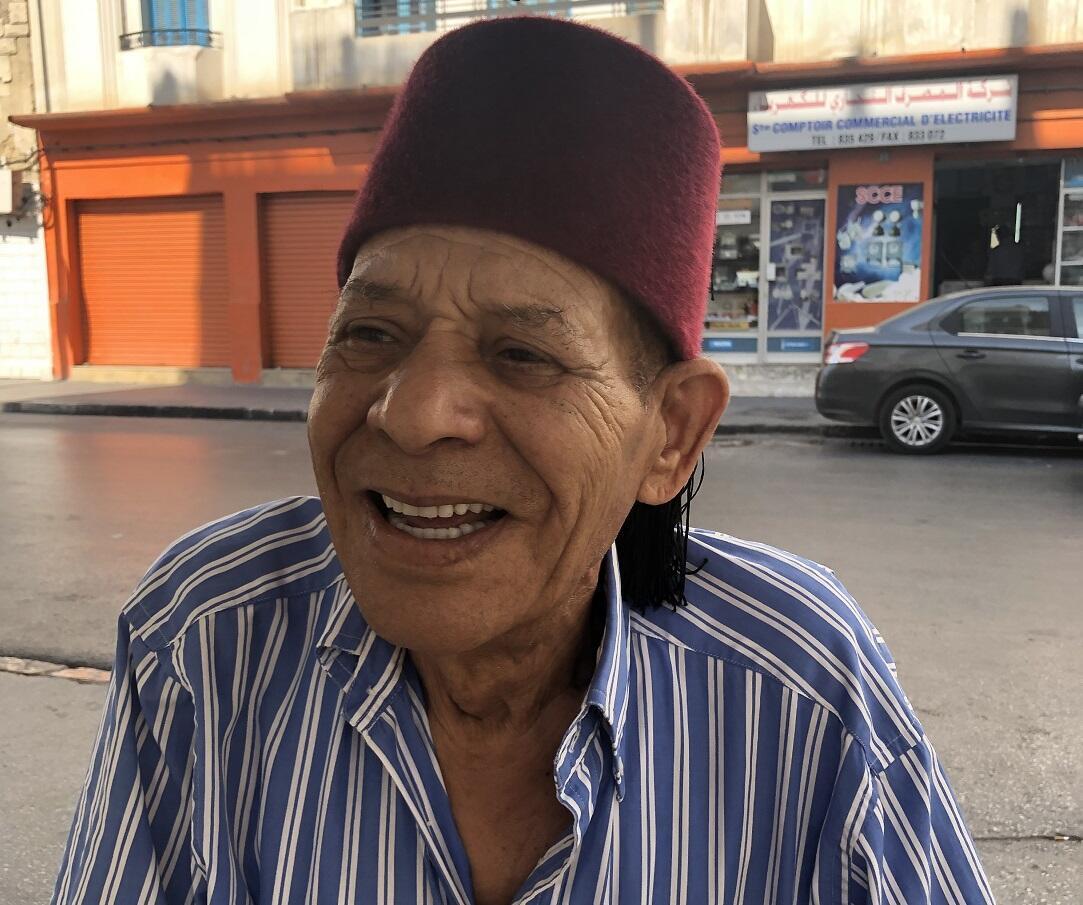 محمد خليل ، صديق قديم للباجي قايد السبسي / صور عماد بنسعيد