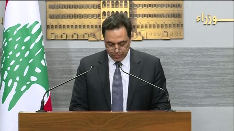 Prime Minister announces Lebanon won't pay Eurobonds