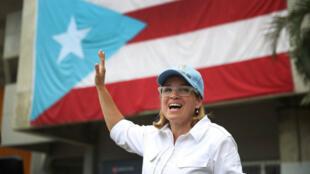 La maire de San Juan Carmen Yulín Cruz.