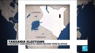 2020-10-28 14:10 Tanzania elections: social media sites 'down' as presidential vote nears