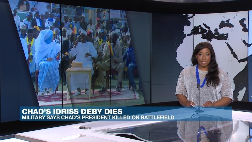 ACROSS AFRICA DEBY DIES 22.04.21