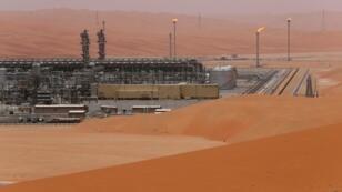 منظر عام لحقل شيبة النفطي التابع لشركة أرامكو السعودية، المملكة العربية السعودية،  22 مايو أيار 2018.