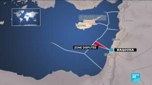2020-10-14 16:05 Premier round de pourparlers inédits entre le Liban et Israël sur leur frontière maritime