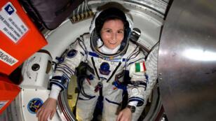 L'astronaute italienne Samantha Cristoforetti.